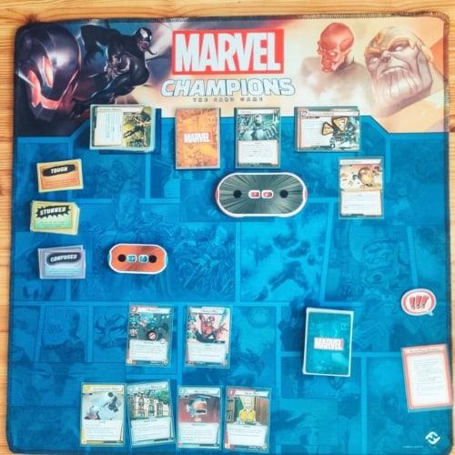 Marvel Championsin pelialusta