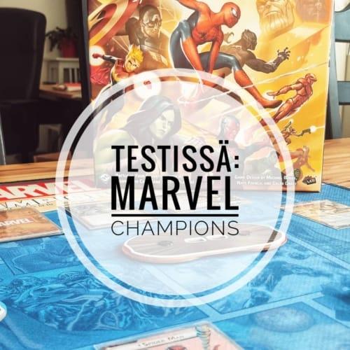 Testissä: Marvel Champions